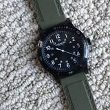Coach Accessories | Gorgeous Army Green Coach Watch | Color: Black/Green | Size: Os