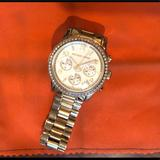 Michael Kors Accessories | Michael Kors Stainless Steel Gold Watch | Color: Gold | Size: Os