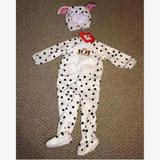 Disney Costumes | Disney 101 Dalmatians Halloween Costume Cosplay | Color: Black/White | Size: 18-24 Months