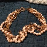J. Crew Jewelry   J Crew Faux Pearl And Chain Necklace   Color: Gold/White   Size: Os