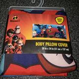 Disney Bedding   Disney Pixar Incredibles Body Pillow Case   Color: Red   Size: Body Pillow Case