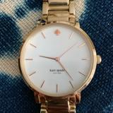 Kate Spade Accessories | Kate Spade Gold Watch With Rose Gold Numbers | Color: Gold | Size: Os