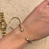 Kate Spade Jewelry   Kate Spate Disco Ball Clasp Bracelet   Color: Gold   Size: Os