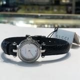 Gucci Accessories | Gucci Diamond Womans Watch | Color: Black | Size: 20mm