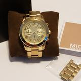Michael Kors Accessories | Classic Michael Kors Mercer Watch (Mk5726) | Color: Gold | Size: Os