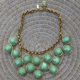Kate Spade Jewelry | Katespade 14kgold Plated Turquoise Collar Necklace | Color: Blue/Gold | Size: Os