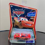 Disney Other | Disney Pixar Cars Supercharged Dirt Track Mcqueen | Color: Red | Size: Single Diecast Car