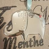 Kate Spade Accents   Kate Spadelenox Baby'S 1st Christmas Ornament   Color: Silver   Size: Os