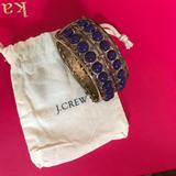 J. Crew Jewelry   J Crew Bracelet Magnetic Closure   Color: Gold/Purple   Size: Os