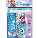 Disney Office   Disney Frozen 2 School Set Stationary Book Pen   Color: Blue/Purple   Size: Os