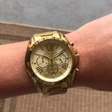 Michael Kors Accessories   Michael Kors Gold Oversized Watch   Color: Gold   Size: Mens