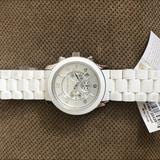 Michael Kors Accessories | Micheal Kors Mens White Watch | Color: White | Size: Os