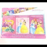 Disney Office   Disney Princess 3 Pack 8 Count 24 Total Crayons   Color: Pink   Size: Os