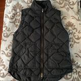J. Crew Jackets & Coats   J. Crew Puffer Diamond Vest With Down Filling   Color: Black/Gold   Size: S