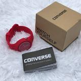 Converse Accessories | Converse Watch Red Unisex Analog Wrist Watch Sport | Color: Red | Size: Os