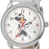 Disney Accessories | Disney Women'S Minnie Mouse Nurse White Strap | Color: White | Size: Os