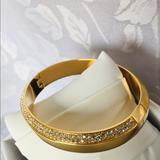 Michael Kors Jewelry   Michael Kors Bracelet Pave Crystals Bracelet   Color: Gold   Size: Os