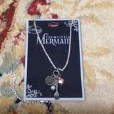 Disney Jewelry | Disney'S The Little Mermaid Charm Necklace | Color: Gold/Silver | Size: Os