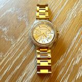 Michael Kors Accessories | Michael Kors Bradshaw Gold Watch Mk-5756 | Color: Gold | Size: Os