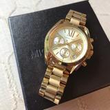 Michael Kors Accessories   Michael Kors Womens Gold Tone Bradshaw Watch   Color: Gold   Size: Os