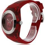 Gucci Accessories   Gucci Sync Xxl Red Rubber Unisex Watch Ya137103   Color: Red   Size: Os