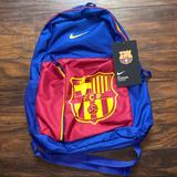 Nike Other | Fc Barcelona Nike Backpack | Color: Blue/Red | Size: Os