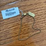 Madewell Jewelry   Madewell Brass Chain Bracelet Nwt   Color: Gold   Size: Os