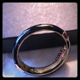 J. Crew Jewelry | J. Crew Black & Gold Bangle, New | Color: Black | Size: Os