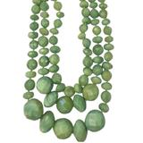 Kate Spade Jewelry   Kate Spade Jade Green Faceted Multi Bead Necklace   Color: Gold/Green   Size: Os