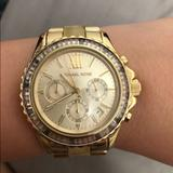 Michael Kors Accessories | Michael Kors Horn & Gold Tone Watch | Color: Gold | Size: Os