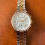 Michael Kors Accessories   Michael Kors Tri-Color Watch   Color: Silver   Size: Os