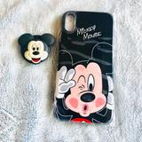 Disney Accessories | Mickey Mouse Iphone Xsmax Protective Cover | Color: Black | Size: Xsmax 6.1 Inches