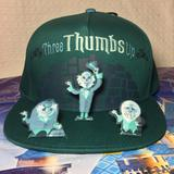 Disney Accessories   Disney Haunted Mansion Mens Adult 3d Ghost Hat   Color: Black/Green   Size: Os
