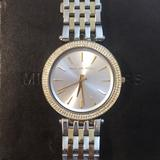 Michael Kors Accessories   Michael Kors Darci Two-Tone Watch   Color: Gold/Silver   Size: Original Links Included For Various Sizing