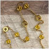 J. Crew Jewelry | J. Crew Gold Tone Necklace | Color: Gold/Yellow | Size: 16.5