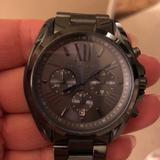 Michael Kors Accessories | Michael Kors Bradshaw Watch | Color: Blue/Gray | Size: Os