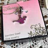 Disney Jewelry | Disney Aladdin Charm | Color: Pink/Silver | Size: Os