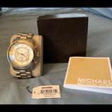 Michael Kors Accessories | Michael Kors Large Silvertone Watch | Color: Silver | Size: Os