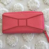 Kate Spade Accessories | Kate Spade Pink Wallet And Card Case. | Color: Pink | Size: Os