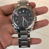 Michael Kors Accessories | Michael Kors Chronograph Men'S Wristwatch. | Color: Black/Gray | Size: Os