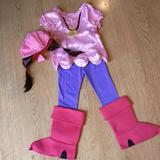 Disney Costumes | Izzy Jake And The Neverland Pirates Halloween Cost | Color: Blue/Pink | Size: 23