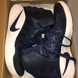Nike Other | Navy Blue Air Huarache Run Basketball Shoes | Color: Blue | Size: Womens 8