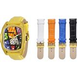 Invicta Men's 41mm Britto Grand Lupah Swiss Movement Gold Tone Limited Edition Quartz Leather Strap Watch with 5-Piece Leather Strap Set