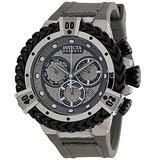Invicta Bolt HERC Reserve Men's 56mm Swiss Quartz Chronograph Silicone Strap Watch (33153)