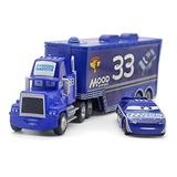 NCTO Disney Pixar Vehicles, Diecasts Toy Vehicles Pixar Cars Toys, Truck The King Diecast Metal Alloy Modle Figures Toys Gifts for Kids (K-11)