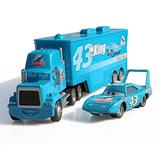 NCTO Disney Pixar Vehicles, Diecasts Toy Vehicles Pixar Cars Toys, Truck The King Diecast Metal Alloy Modle Figures Toys Gifts for Kids (K-3)