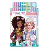 Make It Real Craft Kits - Pretty Kitty Fashion Design Sketchbook