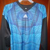 Adidas Shirts | Adidas Vintage 90s Soccer Goalie Jersey Xl $40 | Color: Black/Blue | Size: Xl