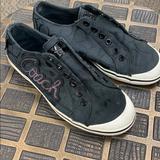 Coach Shoes   Coach Keeley Denim No Lace Fashion Tennis Shoe   Color: Black   Size: 5