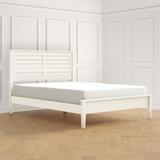 Grain Wood Furniture Greenport Solid Wood Platform Configurable Bedroom SetWood in White, Size Queen | Wayfair